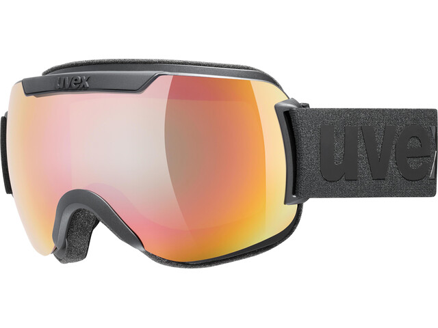 UVEX Downhill 2000 CV Gafas, black mat/colorvision rose fire